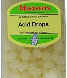 Maxons Acid Drops Jar 3.4kg