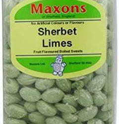 Maxons Sherbet Limes 3.18 kg Jar