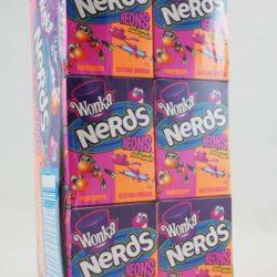 Wonka Nerds Neon 24x45g