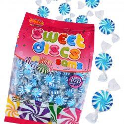 Sweet Discs Blue& White 480g