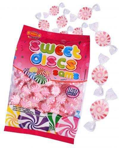 Sweet Discs Pink & White 480g