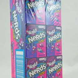 Wonka Nerds Grape&Strawberry 24x45g