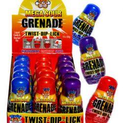 Grenade Lollies